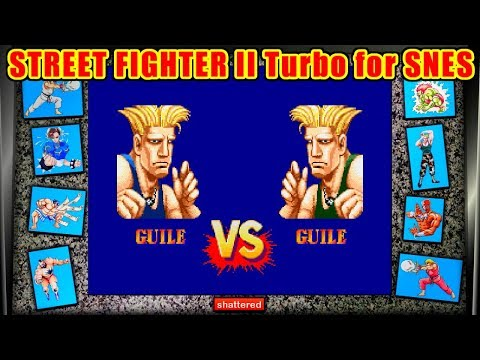 Guile(Zuyle) - STREET FIGHTER II Turbo for SFC/SNES