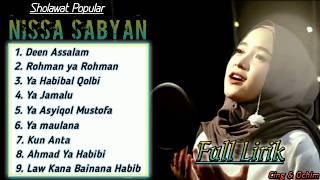 Nissa Sabyan Full Album || Full Lirik || Top Trending Sholawat Masa Kini