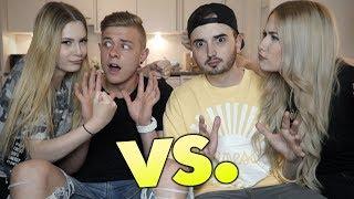 WER IST BESSER IM BETT? | Couple Duell