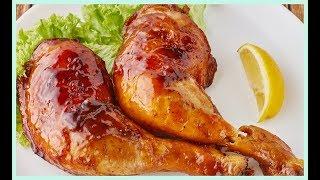 Sobrecoxa e Batata assada no forno almoço de Domingo