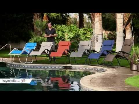 Caravan Canopy Oversized Zero Gravity Recliner - Product Review Video