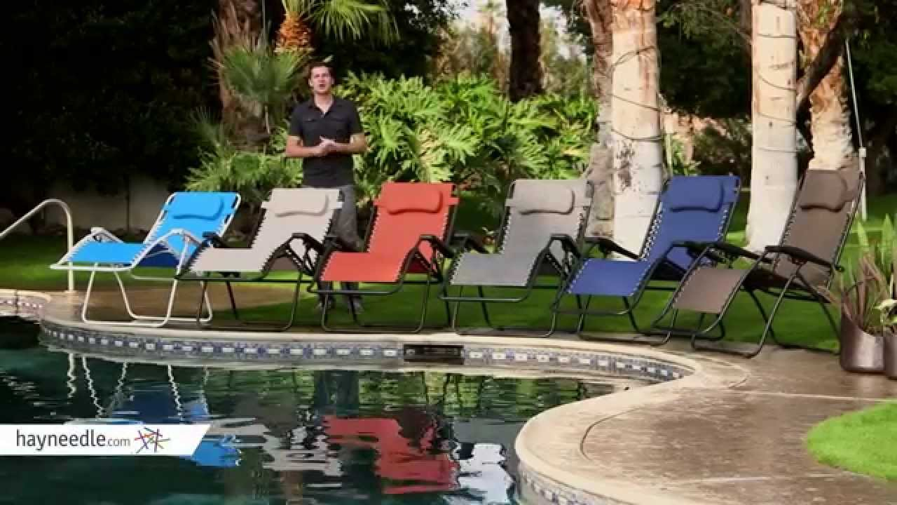 Caravan Canopy Oversized Zero Gravity Recliner - Product Review Video : caravan canopy oversized zero gravity recliner - islam-shia.org