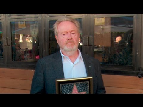 Ridley Scott Star on the Hollywood Walk of Fame