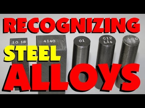 007 RECOGNIZING STEEL ALLOYS, HOME TESTS & TRICKS, MARC LECUYER
