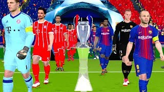 This video is the gameplay of barcelona vs bayern munich uefa champions league 2018 final . please like and subscribe