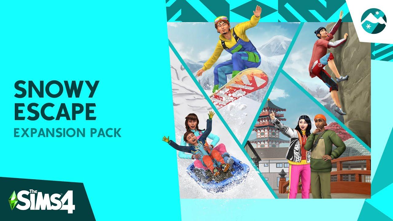 Los Sims™ 4 Escapada en la Nieve: tráiler de anuncio oficial