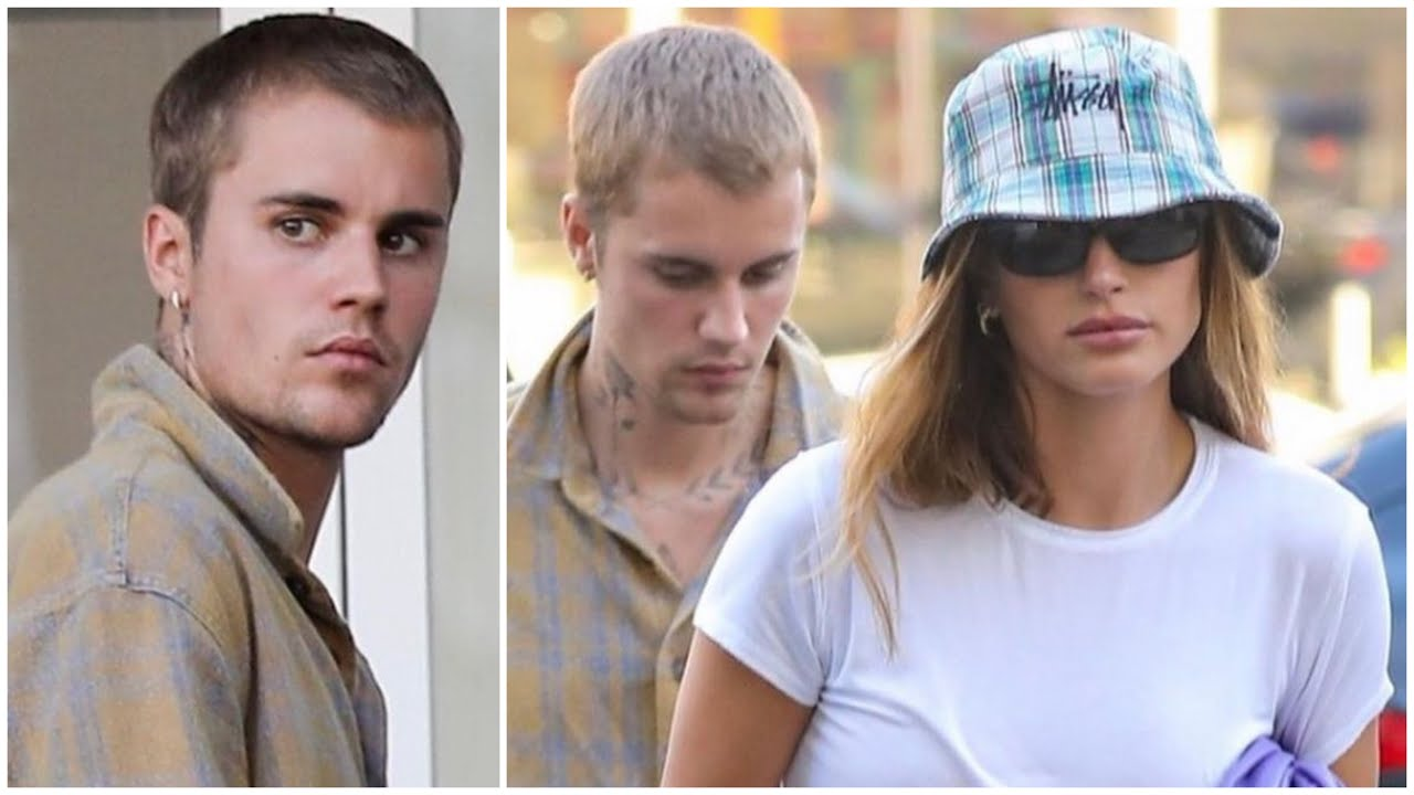 """Justin Bieber and Hailey Leaving Sushi Park """"Look At The Jailey Couple"""""""