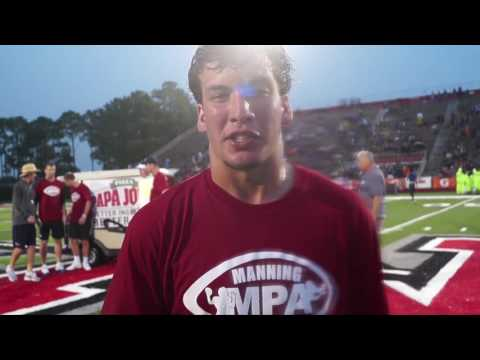 Chase Fourcade: Manning Passing Academy