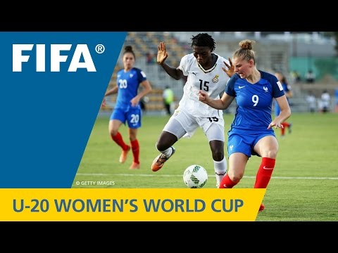MATCH 13: FRANCE v GHANA - FIFA Women's U20 Papua New Guinea 2016