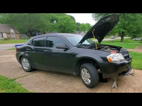 2009 Dodge Avenger 2.4 Oil Pan & Valve Cover Gasket Replacement