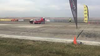 2 bmw drifting at Iasi airport