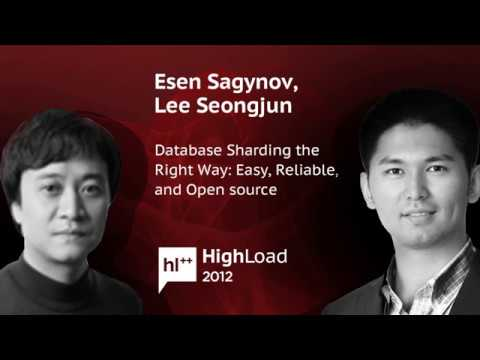 Database Sharding the Right Way Easy, Reliable, and Open source, Esen Sagynov, Lee Seongjun CUBRID