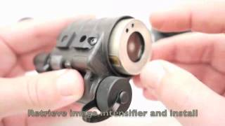 Insight NVM-14 Night Vision Monocular Build Video