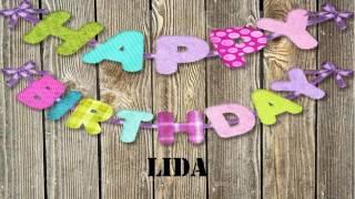 LidaLongI Lida with long I   Birthday Birthday Wishes