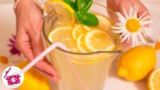 Самый Вкусный ЛИМОНАД в Домашних условиях! Простой и быстрый рецепт Лимонада. Готовим дома
