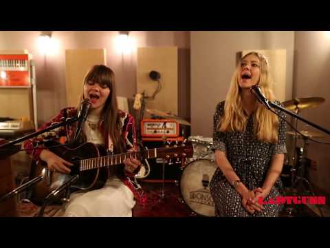 LADYGUNN TV / First Aid Kit/ My Silver Lining / Acoustic Session