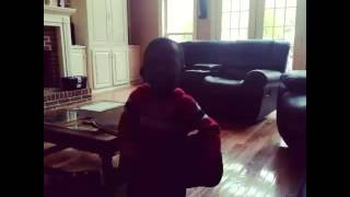 My 3yr old son singing Little Einsteins playing his guitar.