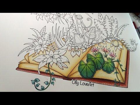 Magical Jungle Coloring Book | Jungle Book (part I) | Selva Mágica ...