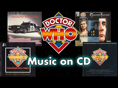 Doctor Who Music on CD