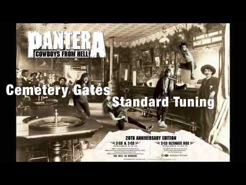 Pantera - Cemetery Gates (Standard Tuning Guitar)