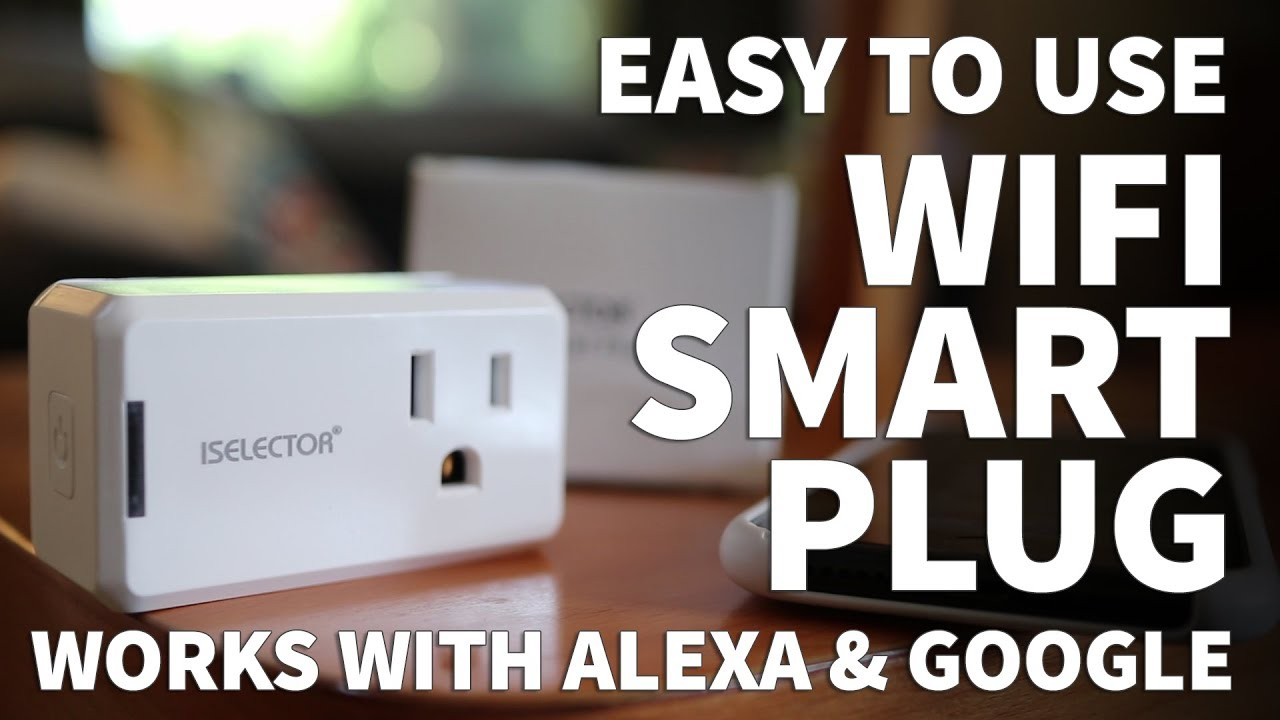 Iselector Wifi Smart Plug Socket