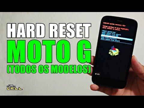 How to reset the Motorola Moto G (All models)