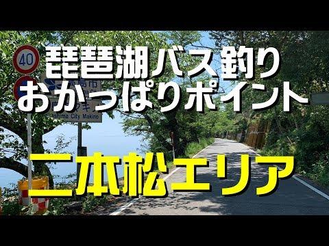 琵琶湖バス釣りポイント 二本松