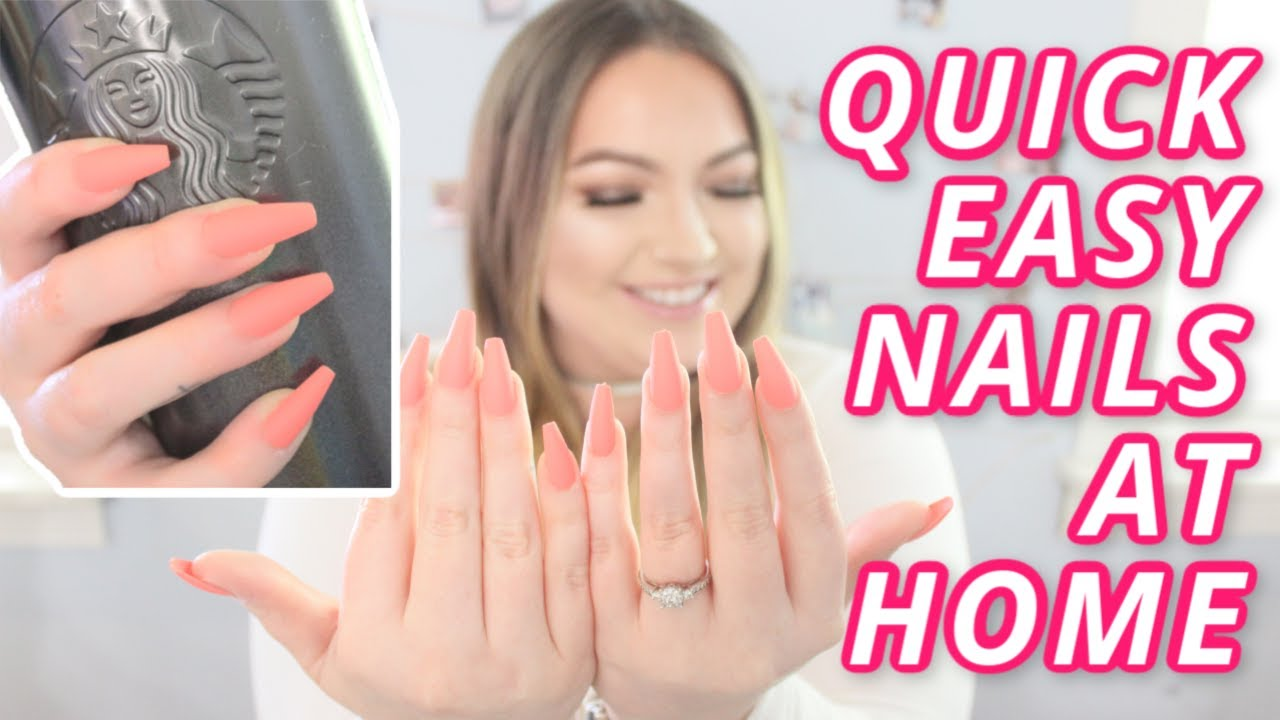How to get BOMB nails during quarantine