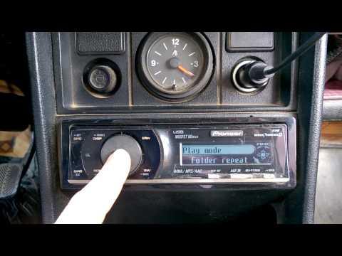 настройка CD/MP3-ресивер с USB Pioneer DEH-P7150UB