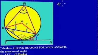 csec cxc maths past paper question 10a iii may 2011 exam solutions answers by will edutech