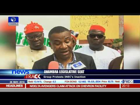 Group Protests INEC