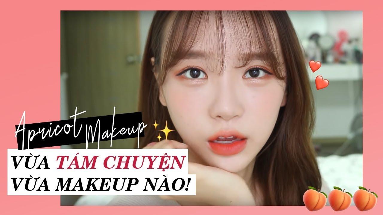 [Làm đẹp] Vừa tám chuyện vừa trang điểm với hot girl Hàn Quốc