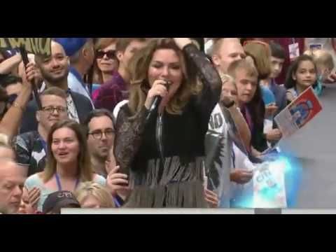Shania Twain - Today show