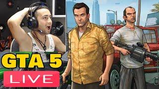 ? LIVE  JUCAM GTA 5 REAL LIFE PENTRU PRIMA DATA #POWER