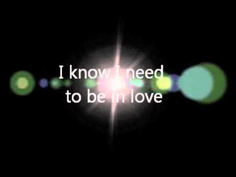 I need to be in love (bossa cover with Lyrics) - R. Carpenter, J. Bettis, A. Hammond.wmv