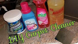 DIY Carpet Cleaner  Dollar tree edition!
