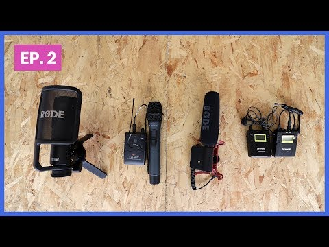 How to Use Four Different Microphones for Video (and ASMR test!)