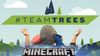 Minecraft Livestream, but donating $1 for every Like to #TeamTrees!