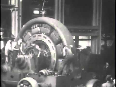 Westinghouse Assembling a generator