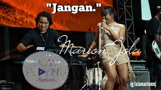 Download lagu Marion Jola - Jangan Now Playing Festival