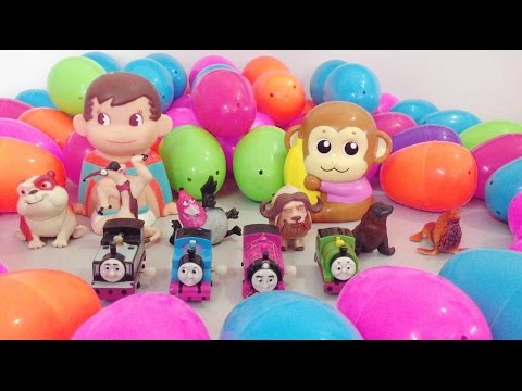 baby studio- SURPRISE EGGS with Surprise Toys-Ice Age,Rio 2,Thomas and Friends,Play Doh & Toys