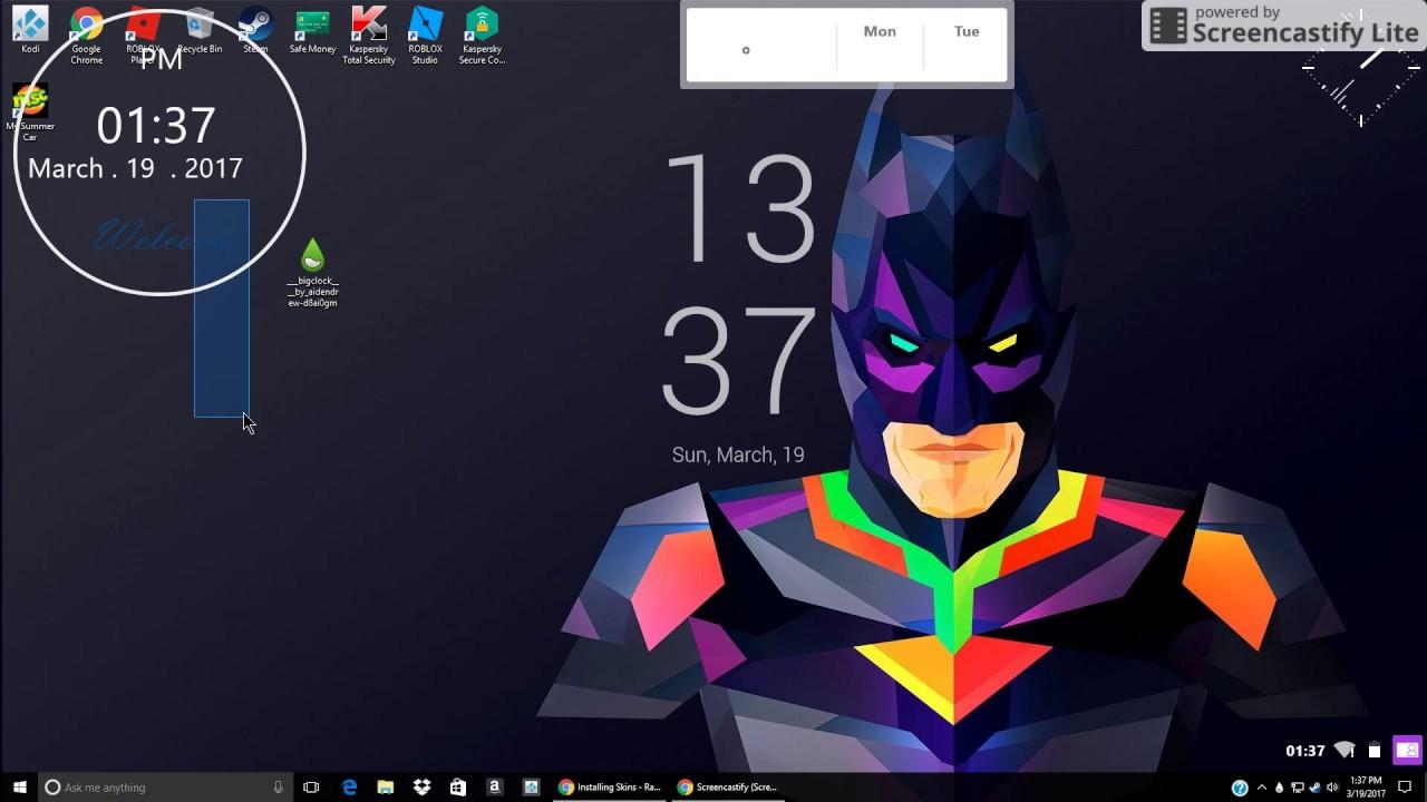 Windows 10 Free Widgets For Desktop - YouTube
