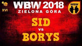bitwa SID vs BORYS # WBW 2018 Zielona Góra (1/4) # freestyle battle