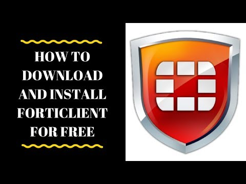 How To Download And Install Forticlient 5.6 2018 windows 10 (offline setup)