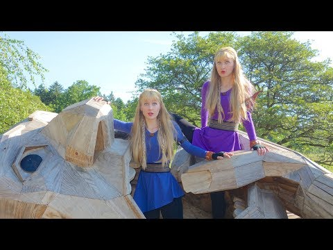 the-twins-and-the-trolls-(original-story-and-song)-harp-twins,-camille-and-kennerly