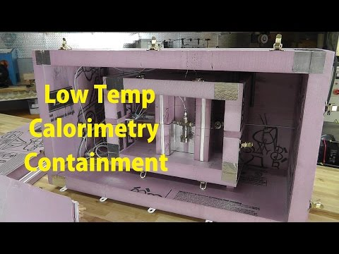 Cold Fusion Update#1 - Making The Low Temp Calorimetry Containment Box's. Styrofoam Cutter.