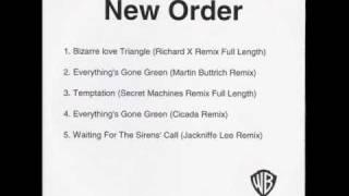 New Order - Temptation (Secret Machines Remix Full Length)