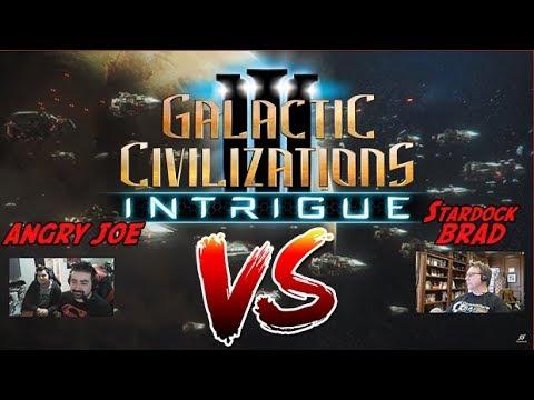 Gal Civ III: Intrigue - AngryJoe Vs CEO Brad!