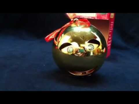 Musical Animated Rockin Around the Christmas Tree Ornament