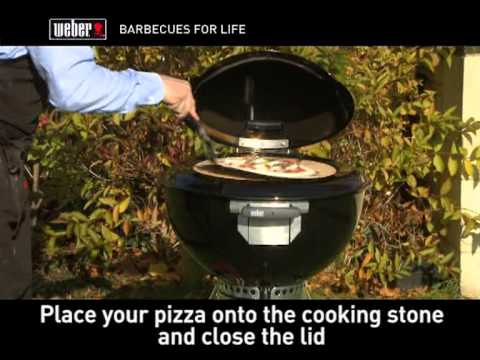 Fremragende Weber Original Charcoal Pizza Oven - YouTube VV39